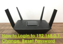 How to Login to 192.168.0.1, Change, Reset Password