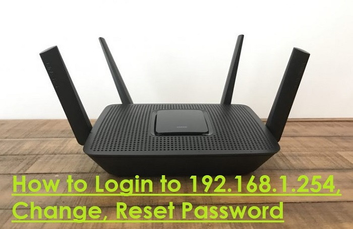 How to Login to 192.168.1.254, Change, Reset Password