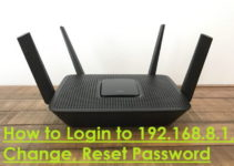 How to Login to 192.168.8.1, Change, Reset Password