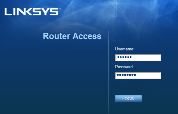 Linksys Router login