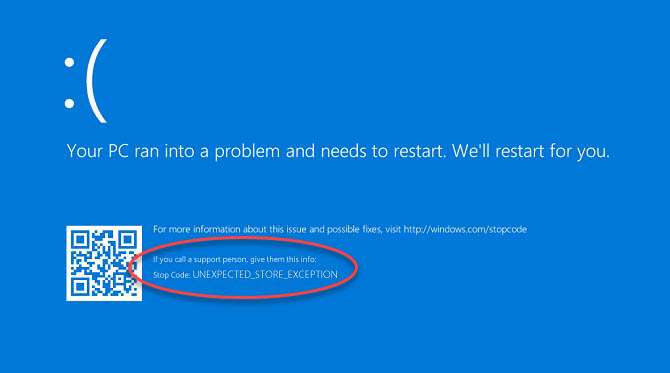 How To Fix Unexpected Store Exception Error in Windows 10
